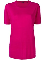 Aspesi Short Sleeve T Shirt Pink