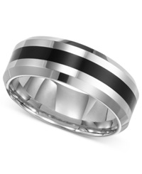 Triton Men's Tungsten Carbide Ring Comfort Fit Wedding Band