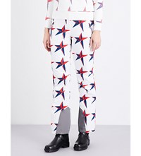 Perfect Moment Imok Iii Stretch Trousers White Star Print