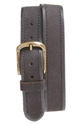 John Varvatos Men's Star Usa Suede Belt