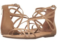 Chinese Laundry Penny Camel Micro Suede Women's Sandals Brown