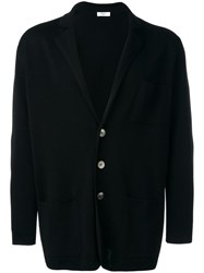 Fashion Clinic Three Button Cardigan Black