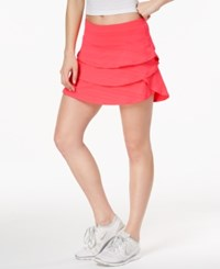 Ideology Tiered Skort Created For Macy's Tropical Melon