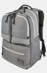 Men's Victorinox Swiss Army Dual Compartment Backpack Grey Gray