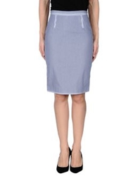 Dsquared2 Knee Length Skirts Blue