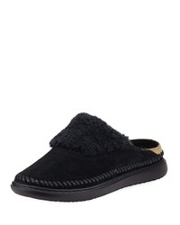 Cole Haan 2.Zerogrand Convertible Suede Slipper Mules Black