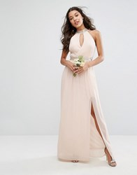 Tfnc Wedding Maxi Dress With Embellishment Pink