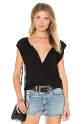 Velvet By Graham And Spencer Christabel Blouse Black
