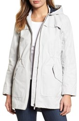 Barbour Marloes Coat Ice White
