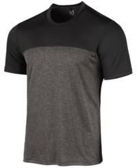 Ideology Id Men's Colorblocked T Shirt Charcoal