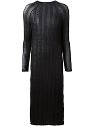Pedro Del Hierro Ribbed Fitted Dress