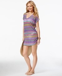 Anne Cole Multicolor Tunic Cover Up Women's Swimsuit