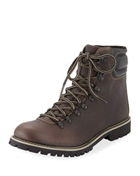 Wolverine Leather Hiking Boots Brown