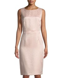 Tahari By Arthur S. Levine Jolene Lace Jacquard Dress Blush Pink