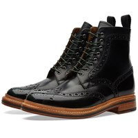 Grenson Fred Brogue Boot Green