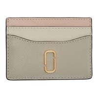 Marc Jacobs Taupe Snapshot Card Holder
