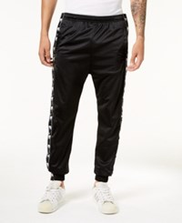 American Stitch Men's Dog Logo Track Pants Black