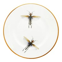 Melody Rose Dragonfly Salad Plate