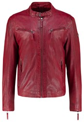 Gipsy Coby Leather Jacket Rot Red