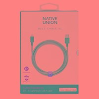 Native Union Belt Xl Monochrome Charging Cable Multicoloured