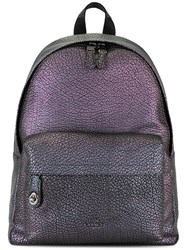 Coach Hologram Backpack Pink Purple