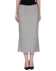 Theyskens' Theory 3 4 Length Skirts Grey