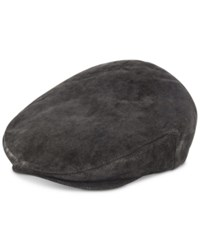 Dorfman Pacific Stetson Weathered Leather Ivy Hat Black