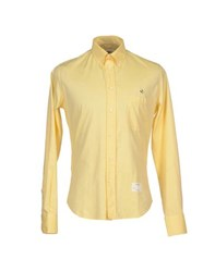 The Editor Shirts Shirts Men Light Yellow