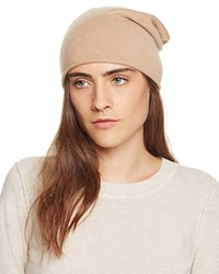 Bloomingdale's C By Bloomingdales Cashmere Angelina Slouch Hat Camel