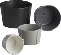 Cb2 Pinch Grey Measuring Cups