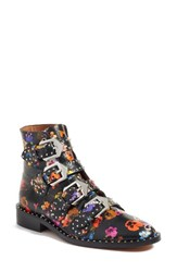 Givenchy Women's Prue Ankle Boot Black Floral