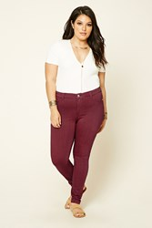 Forever 21 Plus Size Super Skinny Jeans