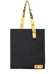 Off White Industrial Straps Tote 60