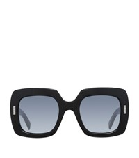 Boucheron Geometric Sunglasses Female Black