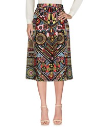 Holly Fulton 3 4 Length Skirts Red