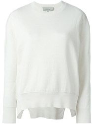 Studio Nicholson 'Piccolo' Sweater White