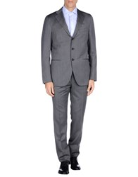 Caruso Suits And Jackets Suits Men Grey