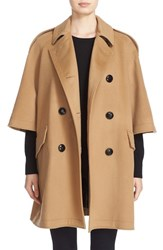 Burberry Women's Dennington Trench Cape Coat