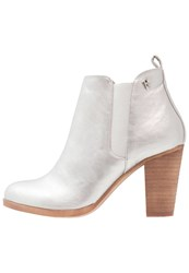 Refresh Ankle Boots Silver