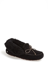 'Uggpuretm Alena' Suede Slipper Women Black