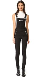 Cheap Monday Zip Dungaree Overalls Black