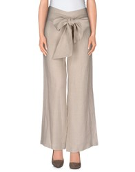 Fisico Cristina Ferrari Trousers Casual Trousers Women Beige