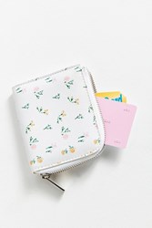 Urban Outfitters Ditzy Patterned Wallet Pink