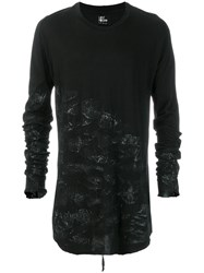 Lost And Found Ria Dunn Long Sleeve T Shirt Black
