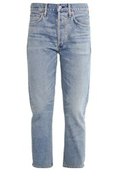 Citizens Of Humanity Dree Relaxed Fit Jeans Savanna Light Blue Denim