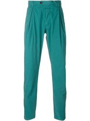 Al Duca D'aosta 1902 Pleated Trousers Green