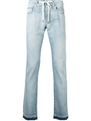 Andrea Pompilio Skinny Jeans Men Cotton 50 Blue