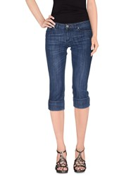 Ean 13 Denim Denim Capris Women Blue