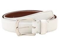 Torino Leather Co. 35Mm Burnished Tumbled White Men's Belts