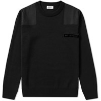 Saint Laurent Bad Lieutenant Crew Knit Black